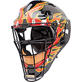 "All-Star Adult MVP ""Fireball"" Decaled Catcher's Helmet"