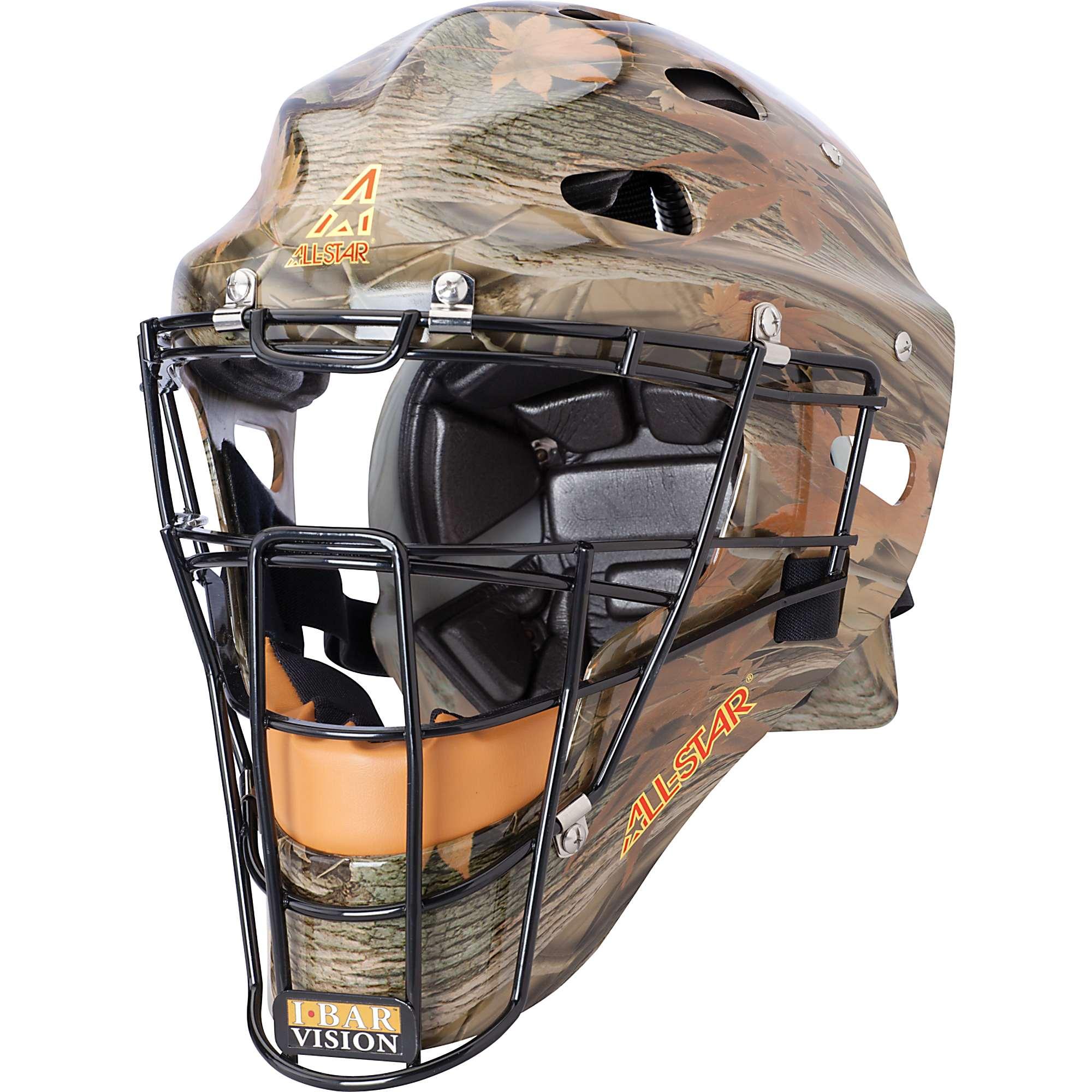 All-Star Youth Camo Mvp Catcher's Helmet