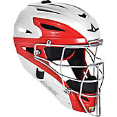 All-Star Youth System 7 White Two-Tone Catcher's Helmet