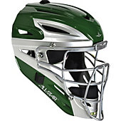 All-Star Adult System 7 Drk Grn Pro Catchers Helmet