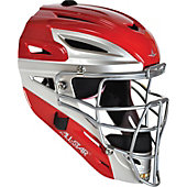 ALL STAR SYSTEM 7 CATCHERS HEADGEAR SCARLET 10S