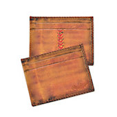 Rawlings Baseball Stitch Leather Card Case