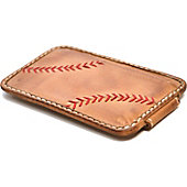 Rawlings Baseball Stitch Front Pocket Money Clip