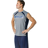 A4 Men's Color Block Performance Muscle Shirt