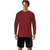 A4 Men's Tech Long Sleeve Performance Crew T-Shirt