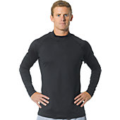 A4 Men's Long Sleeve Cold Gear Mock Shirt