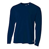 A4 Men's Long Sleeve Mesh T-Shirt