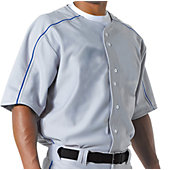 A4 Men's Warp Knit Baseball Jersey