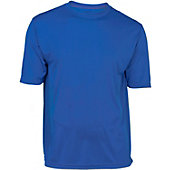 A4 Youth Solid Color Performance Crew T-Shirt