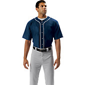 A4 Youth Baseball Jersey with Piping