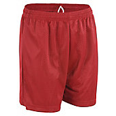 A4 Boy's Moisture-Management Mesh Shorts