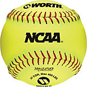 "Worth NCAA 12"" Fastpitch Softball (Dozen)"