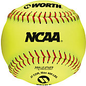 "Worth 12"" Official NCAA 47 COR Fastpitch Softball (Dozen)"
