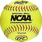 "Rawlings 12"" NCAA Official Fastpitch Softball (Dozen)"