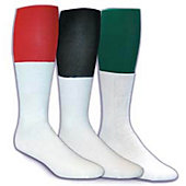 Football Team Socks Adult 25 in. Shoe Size 9-12
