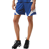 A4 Youth Girls Moisture Management Softball Short