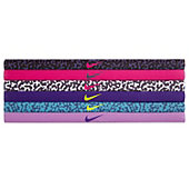 Nike Assorted Printed Headbands (Pack of 6)