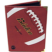 Baden Leather Football Notebook