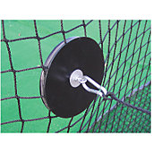 Netsaver Secures and Protects Batting Cage Holes
