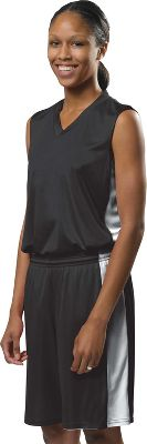 A4 Womens Reversible Moisture Management Basketball Jersey