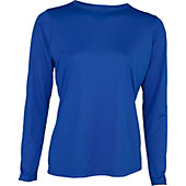 A4 Women's Long Sleeve Performance Crew Shirt