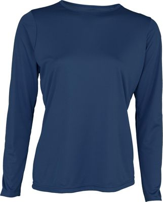 A4 Womens Long Sleeve Performance Crew Shirt
