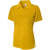 A4 Women's Textured Polo