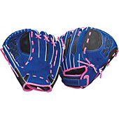 "Easton Natural Youth Fastpitch Series 11"" Royal Softball Glove"