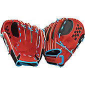 "Easton Natural Youth Fastpitch Series 11"" Scarlet Softball Glove"