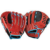 "Easton Natural Youth Fastpitch Series 11.5"" Scarlet Softball"