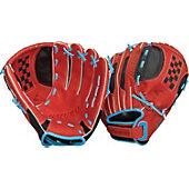 "Easton Natural Youth Fastpitch Series 12"" Scarlet Softball Glove"