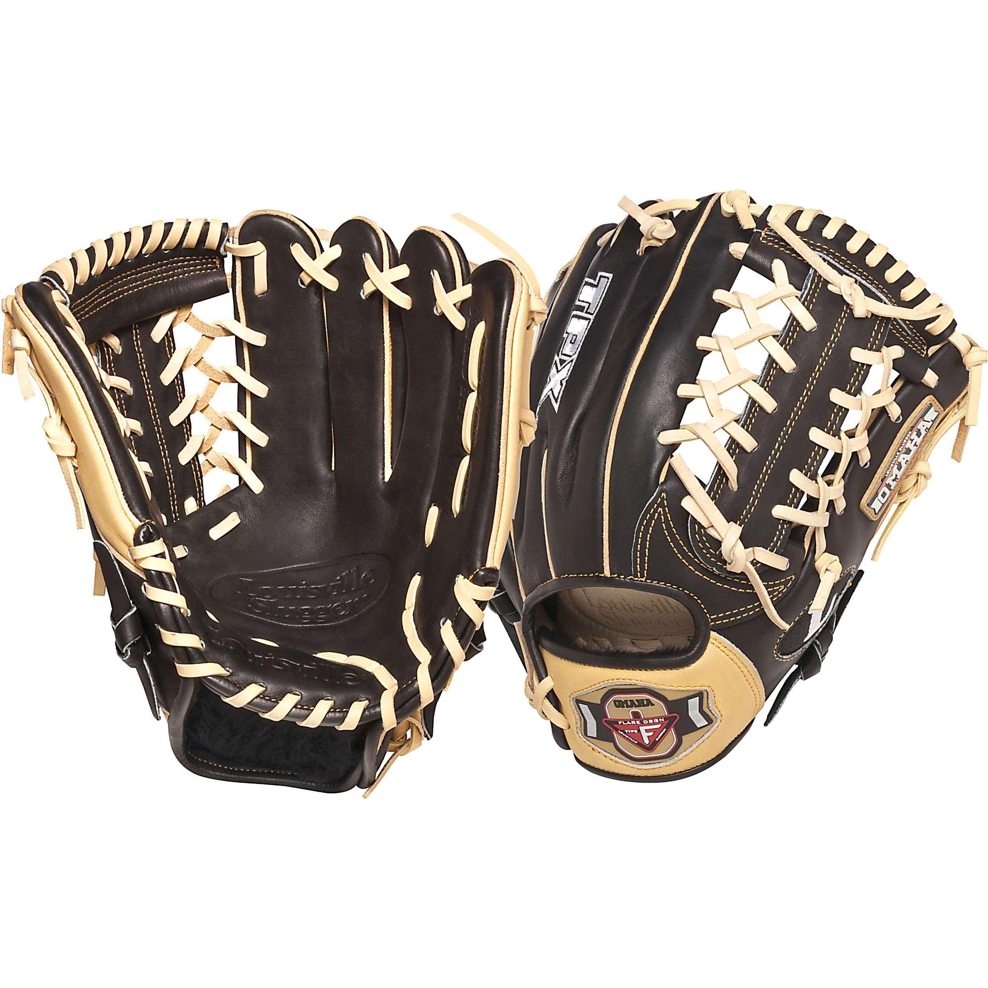 Louisville Flare Outfield Glove : Louisville slugger omaha flare quot baseball glove ebay