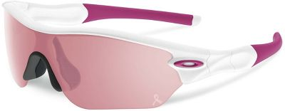 Oakley Women's Radar Edge Breast Cancer Awareness Sunglasses