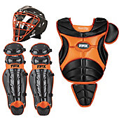Louisville Omaha Intermediate Black/Orange Catcher's Set
