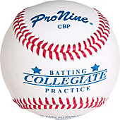 Pro Nine Collegiate Batting Practice Ball (Dozen)