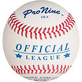 Pro Nine Official League Ball (Dozen)