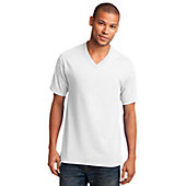 Port & Co. Men's 5.4-oz. Cotton V-Neck T-Shirt
