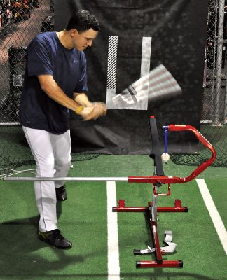 Baseball - Power Drive Hitting Tee Fold-N-Go