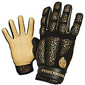POWERHANDZ Adult Pure Grip Weighted Baseball Training Gloves