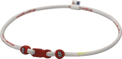 Phiten MLB Alternate Authentic Titanium X30 Necklace
