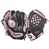 "Rawlings Girl's Players Series 9"" T-Ball Glove"