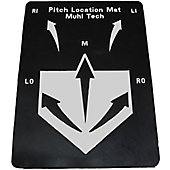 Muhl Tech Baseball Pitch Location Mat