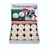 Heater Sports Pitching Machine Leather Baseballs  (Pack of 12)