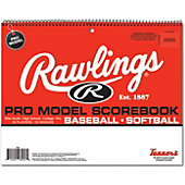 Rawlings System 17 Pro-Model Baseball/Softball Scorebook