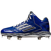 Adidas Men's PowerAlley 2 Mid Metal Baseball Cleats