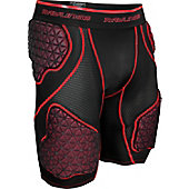 Rawlings Adult Five-Pad D-Flexion Compression Short