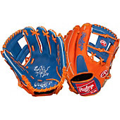 "Rawlings Heart of the Hide Royal/Orange Pro-I web 11.5"" Baseball Glove"