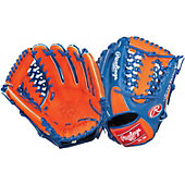 "Rawlings Heart of the Hide Orange/Royal 11.5"" Baseball Glove"