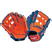 "Rawlings Heart of the Hide Orange/Royal 12.75"" Baseball Glove"