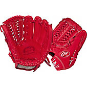 "Rawlings Pro Preferred Series 11.75"" Scarlet Baseball Glove"